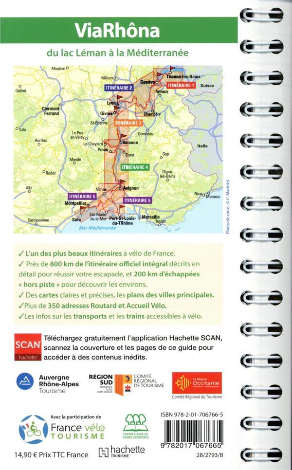 Guide du Routard ; ViaRhôna ; du lac Léman à la Méditerranée