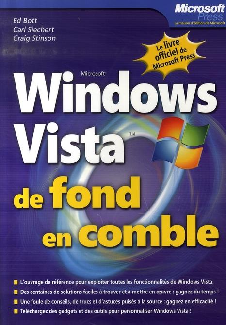 Windows vista de fond en comble