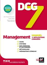 Vente EBooks : DCG 7 - Management Manuel et applications  - Alain Burlaud - Jean-François Soutenain - Ludovic Babin-Touba