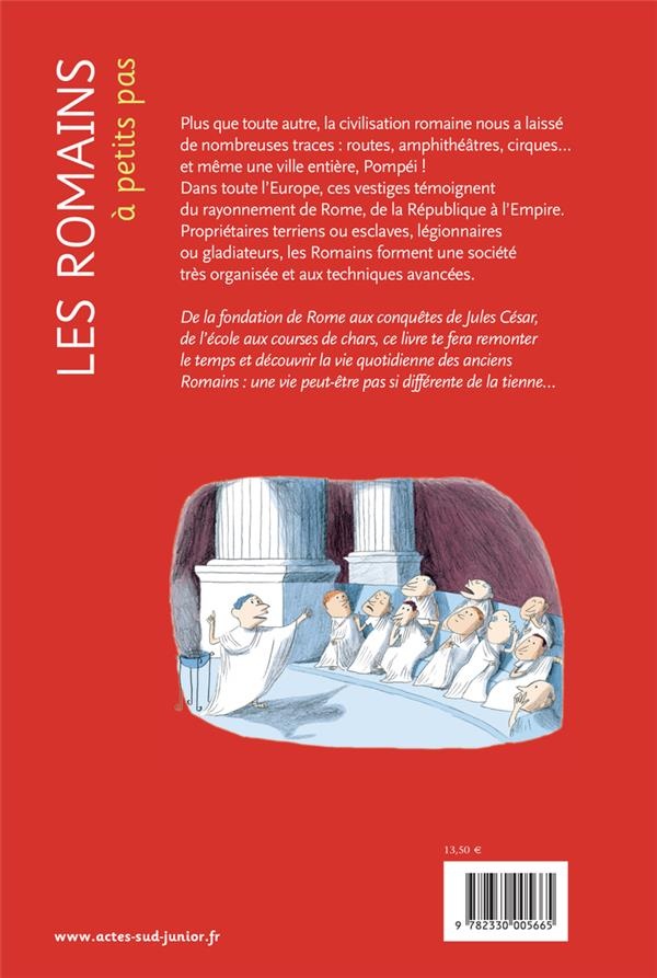 A PETITS PAS ; les Romains