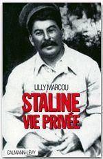 Staline, vie privée