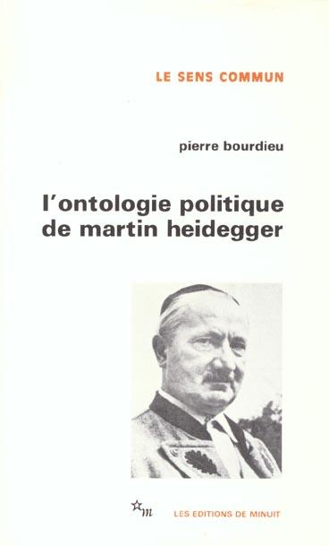 L'ontologie politique de Heidegger