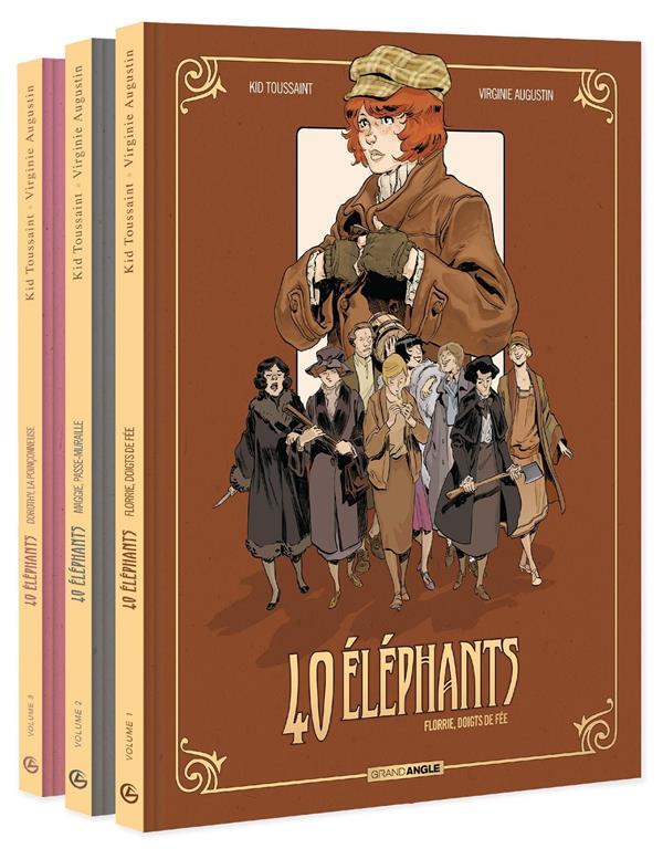 40 ELEPHANTS  -  T.1 A T.3