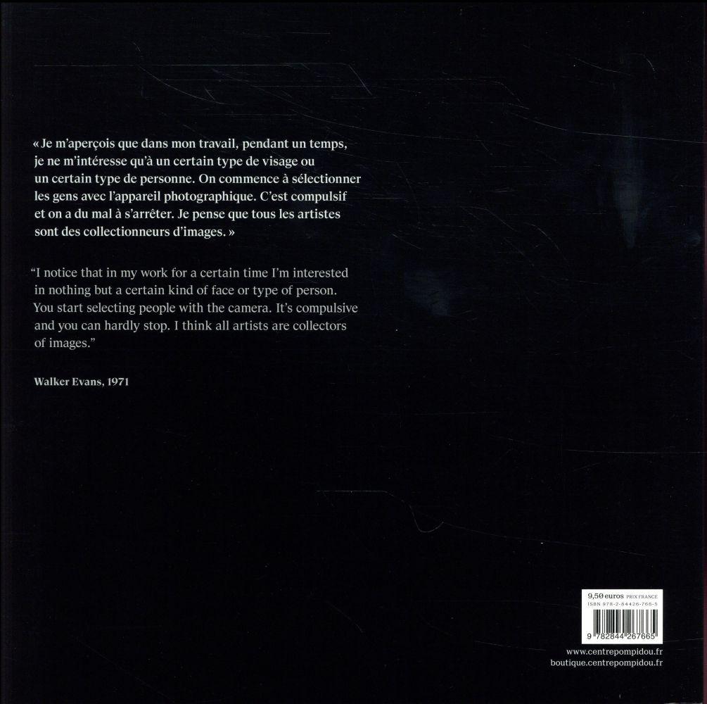 Walker Evans ; album exposition