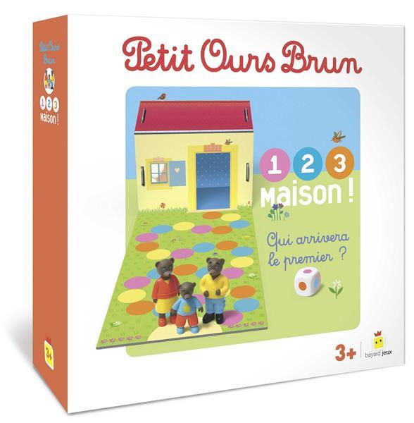 Petit Ours Brun ; 1,2,3, maison ! ; qui arrivera le premier ?