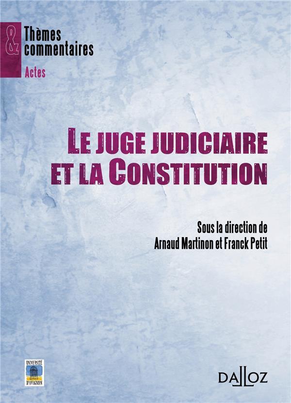 le juge judiciaire et la Constitution