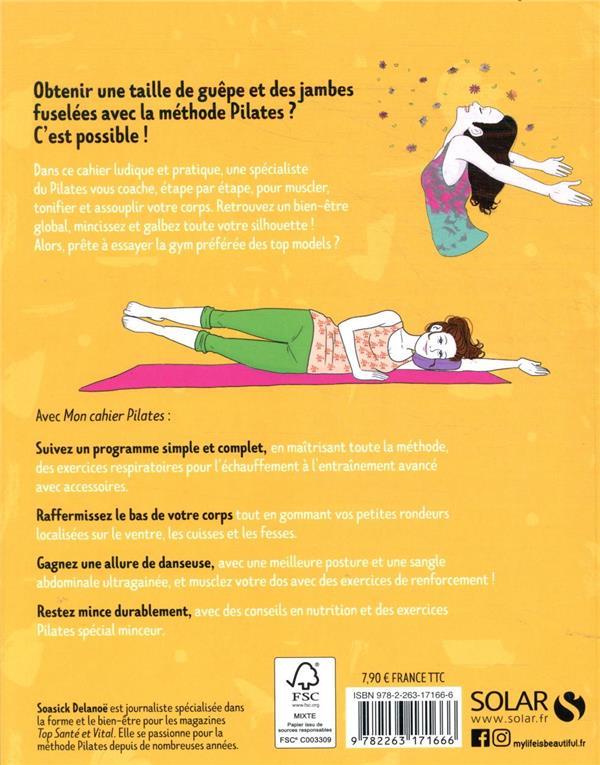 MON CAHIER ; pilates