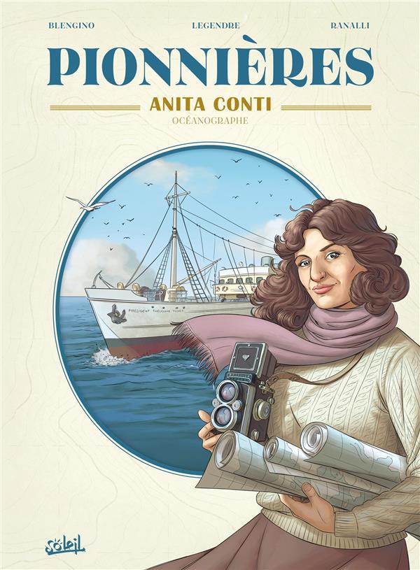 Pionnières ; Anita Conti, océanographie