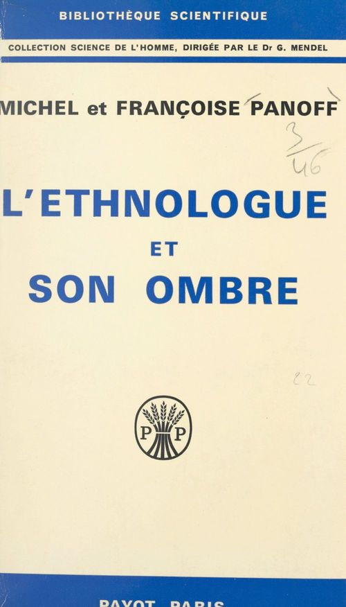 L'ethnologue et son ombre