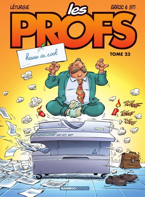 Vente Livre Numérique : Les Profs - Tome 23 - Heure de cool  - Sti  - Erroc
