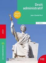 Droit administratif (édition 2020/2021)  - Jean-Claude Ricci - Frederic Lombard