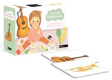 Tout-petit Montessori ; instruments de musique