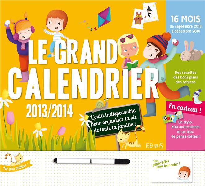 Le grand calendrier 2013/2014