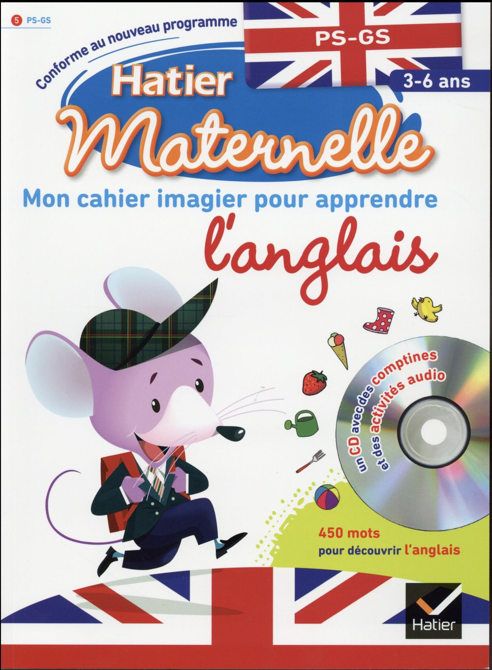 Hatier Maternelle Mon Cahier Imagier Pour Apprendre L