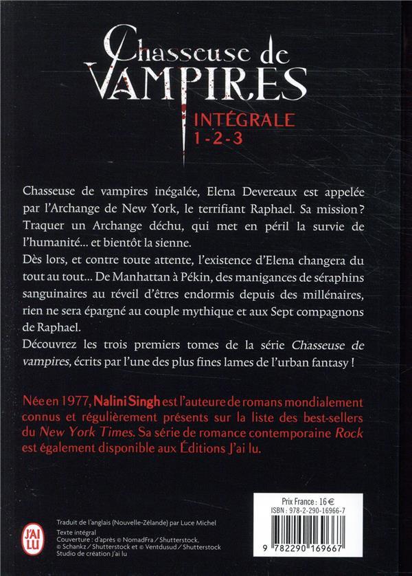 Chasseuse de vampires ; INTEGRALE T.1 A T.3