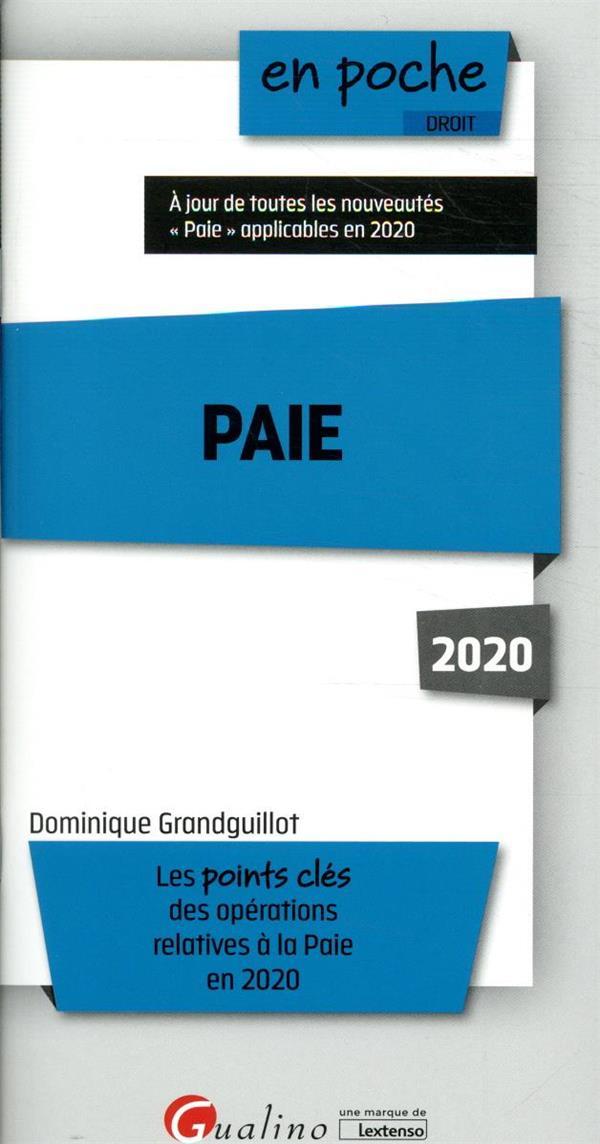 Paie (édition 2020)