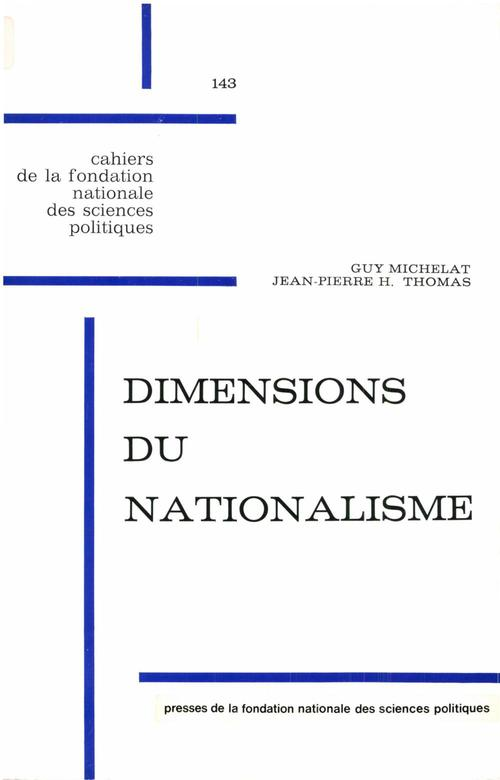 Dimensions du nationalisme
