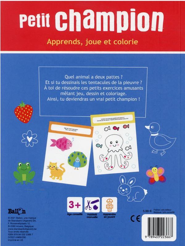 Apprends, joue et colorie