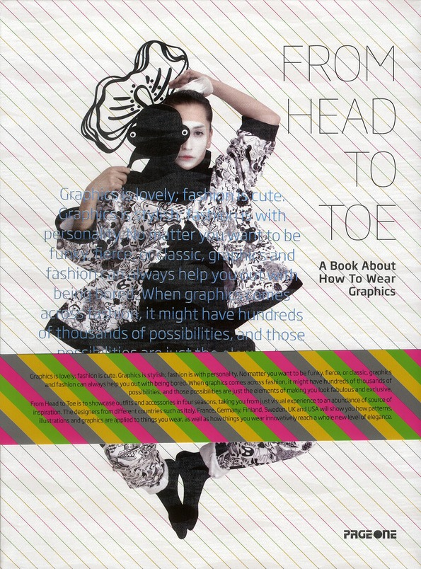 From head to toe ; a book about how to wear graphics