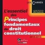 Vente Livre Numérique : L'essentiel des principes fondamentaux de droit constitutionnel  - Isabelle Thumerel - Gilles Toulemonde