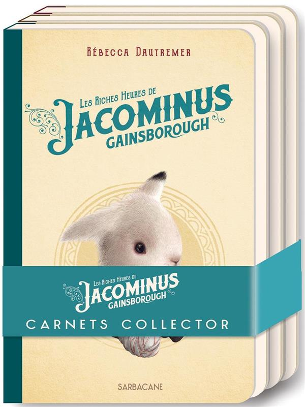 Lot de 3 carnets Jacominus Gainsborough