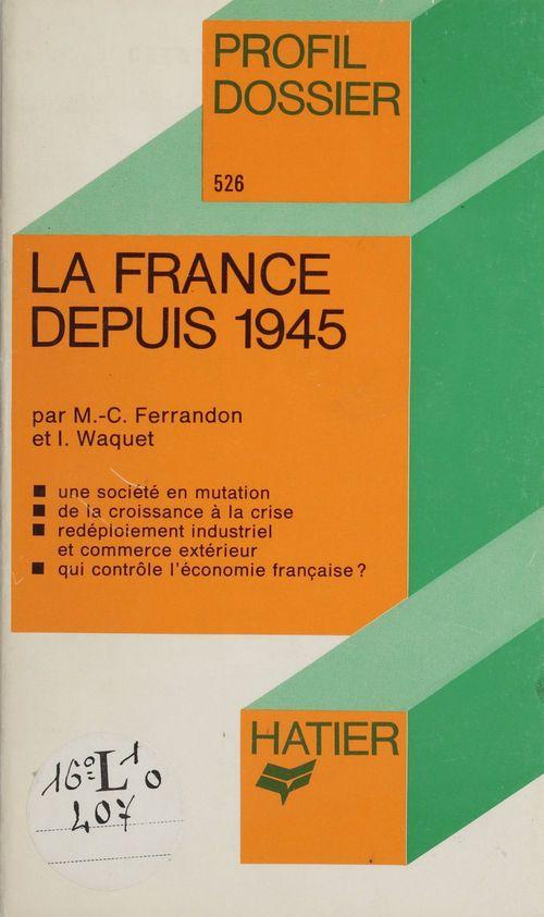 France depuis 1945 (82)