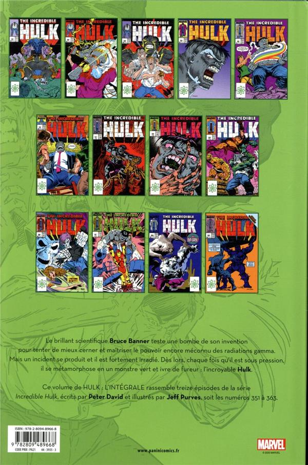 Hulk ; INTEGRALE VOL.4 ; 1989