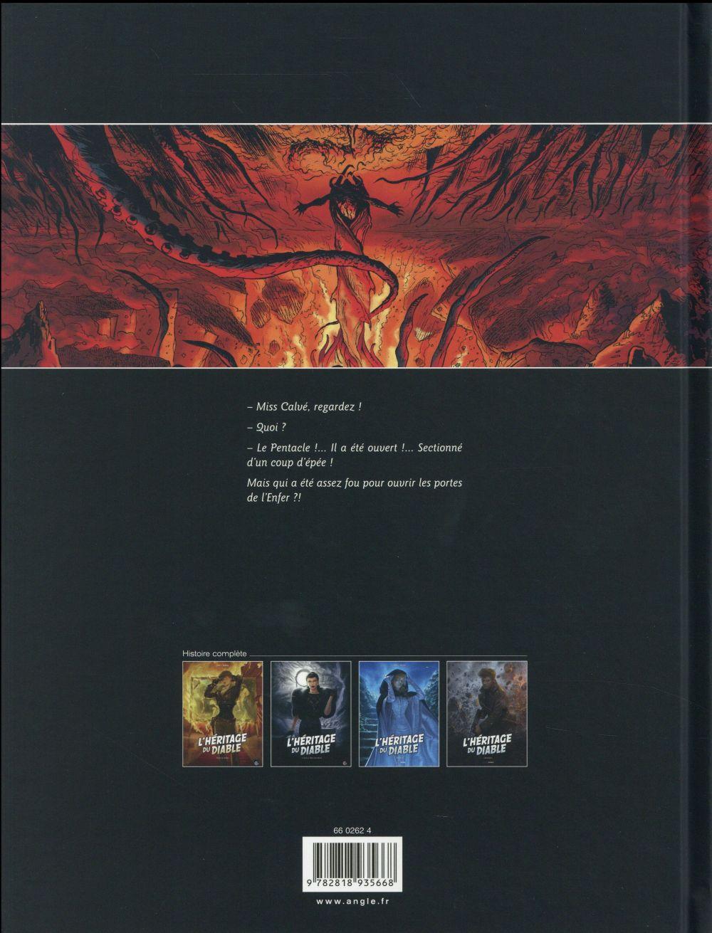 L'héritage du diable T.2 ; le secret du Mont-Saint-Michel