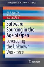 Software Sourcing in the Age of Open  - Klaas-Jan Stol - Brian Fitzgerald - Par J. Agerfalk - Pär J. Ãgerfalk