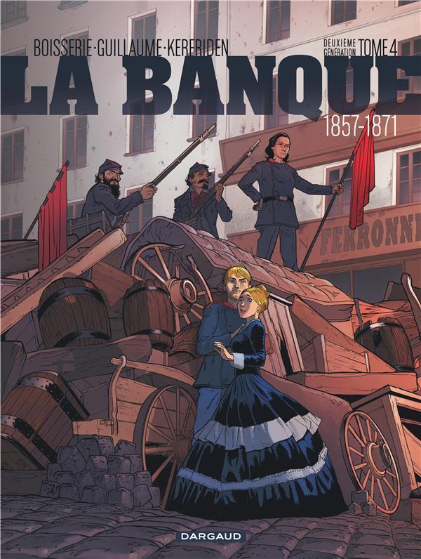 La banque T.4 ; 1857-1871 ; deuxième génération ; le pactole de la Commune