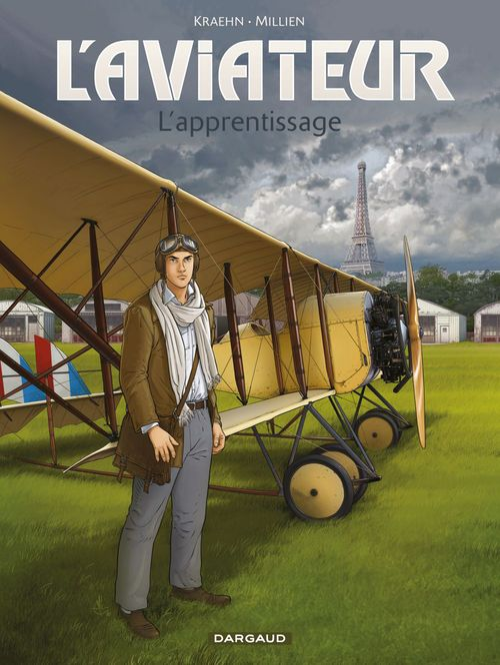 L'aviateur T.2 ; l'apprentissage