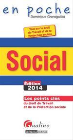 Vente Livre Numérique : Social- Édition 2014  - Dominique Grandguillot