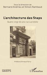 Vente Livre Numérique : L'Architecture des Staps  - Bernard Andrieu - Simon Rambaud