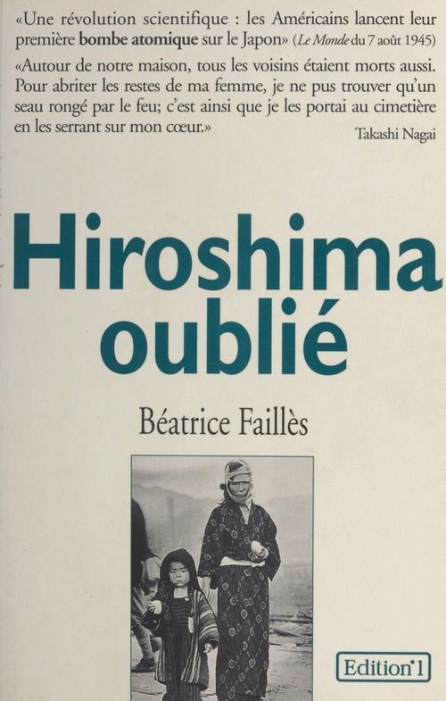 Hiroshima oublie