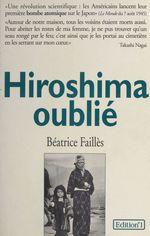 Hiroshima oublié