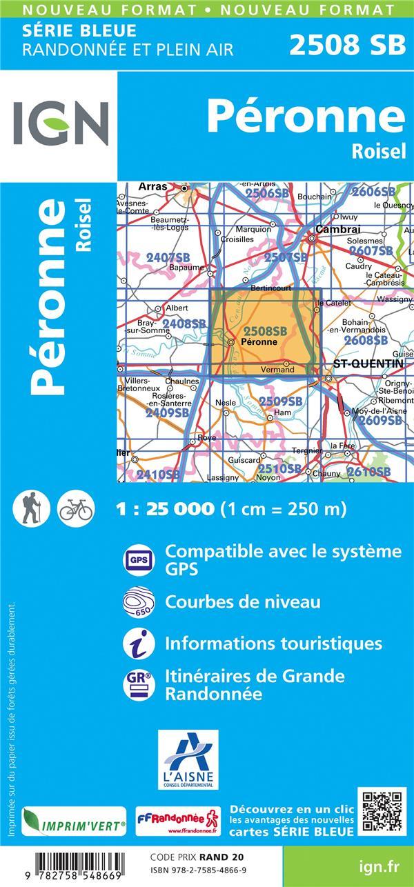 2508SB ; Péronne, Roisel