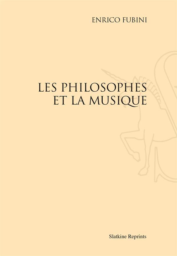Les philosophes et la musique