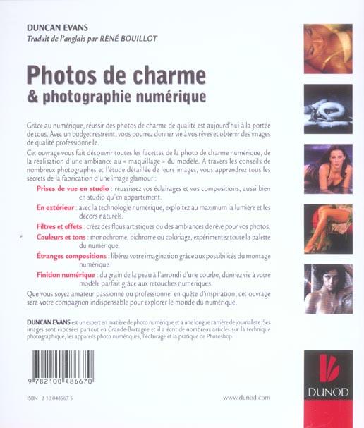 Photos de charme et photographie numerique