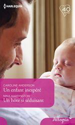 Vente EBooks : Un enfant inespéré - Un hôte si séduisant  - Caroline Anderson - Nina Harrington