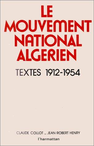 Le mouvement national algérien