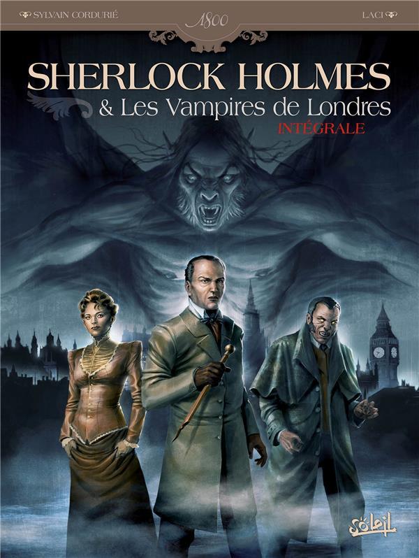 Sherlock Holmes et les vampires de Londres ; intégrale t.1 et t.2