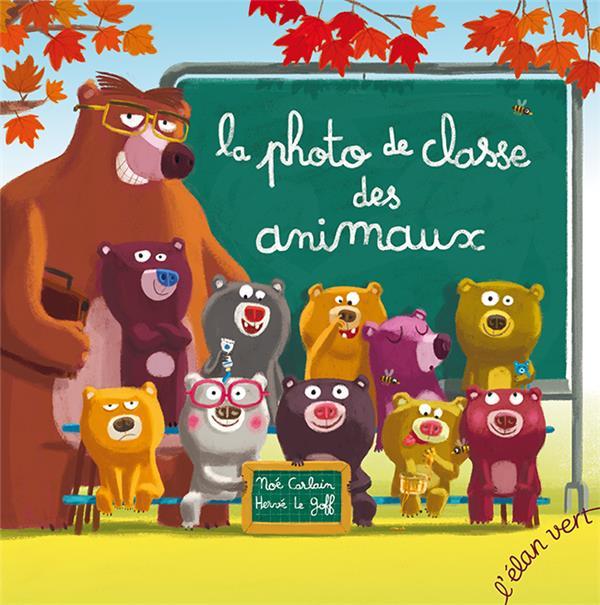 La photo de classe des animaux (coll. poivre et compagnie)