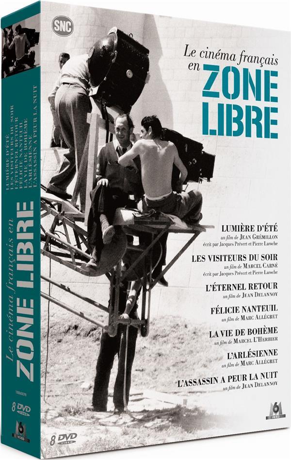 Le Cinéma français en zone libre - Coffret : Lumière d'été + Les Visiteurs du soir + L'Éternel retour + Félicie Nanteuil + La vie de bohème + L'Arlésienne + L'Assassin a peur la nuit