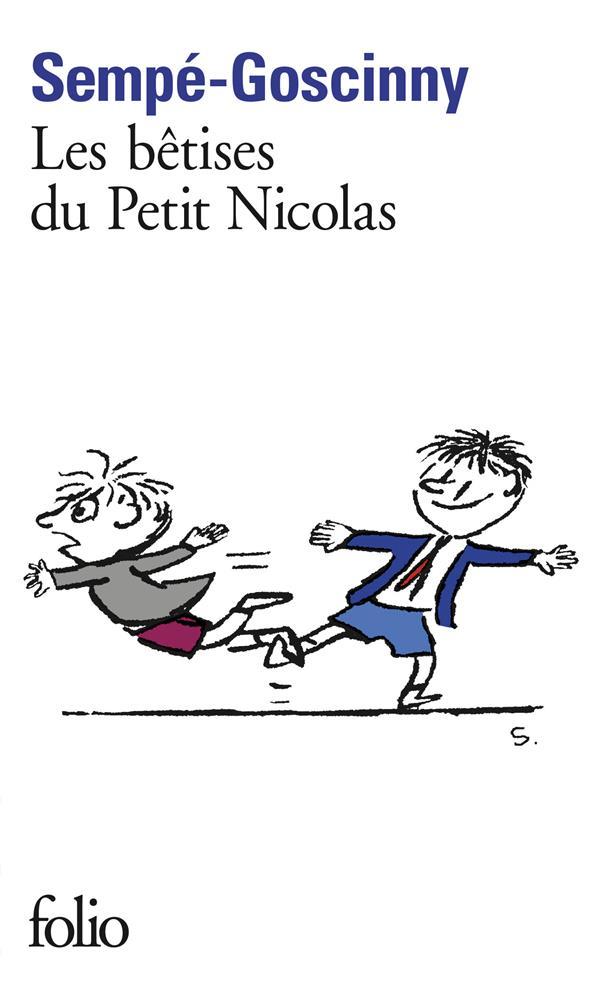 Histoires inédites du Petit Nicolas t.1 ; les bêtises du petit Nicolas