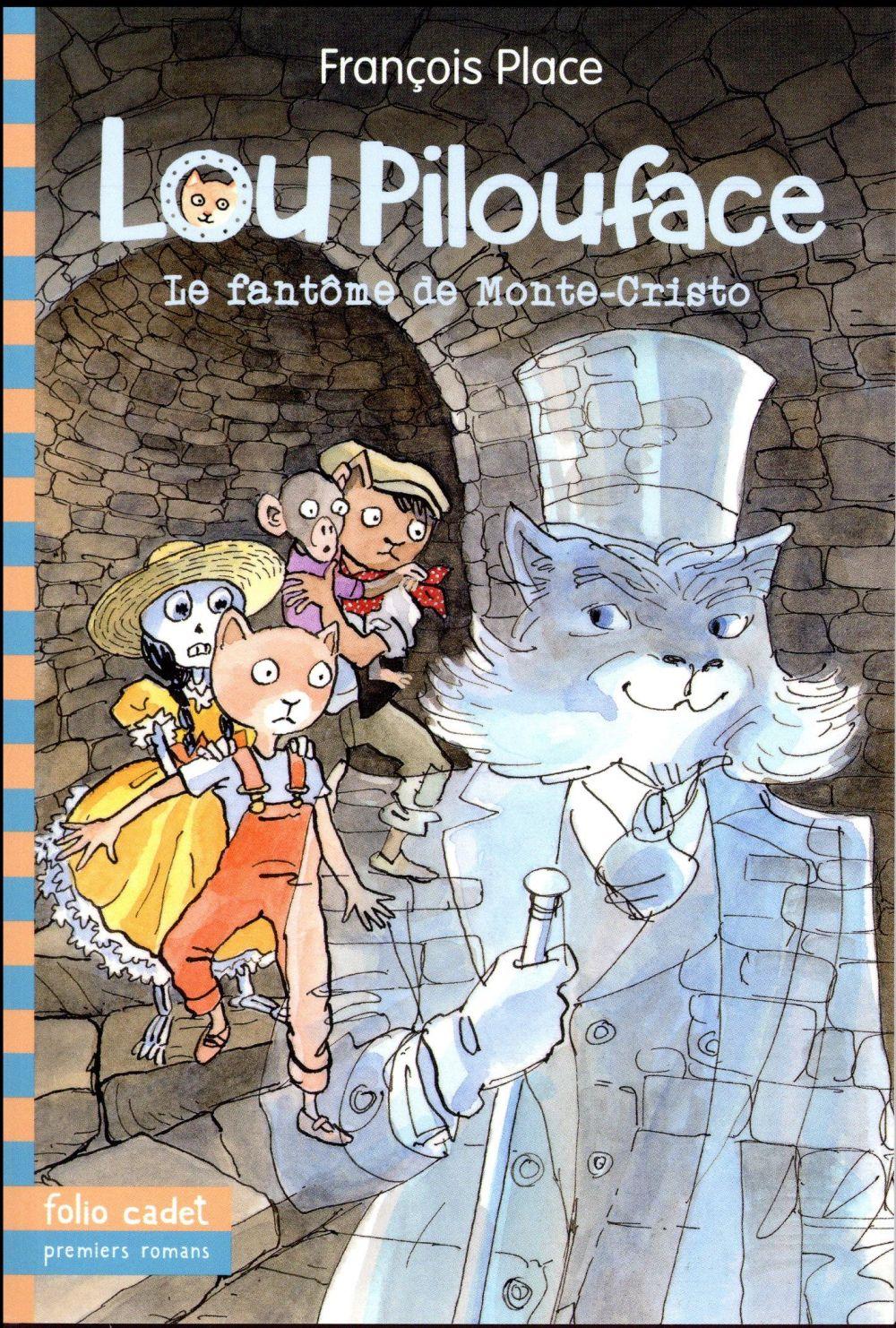 Lou Pilouface T.7 ; le fantôme de Monte-Cristo