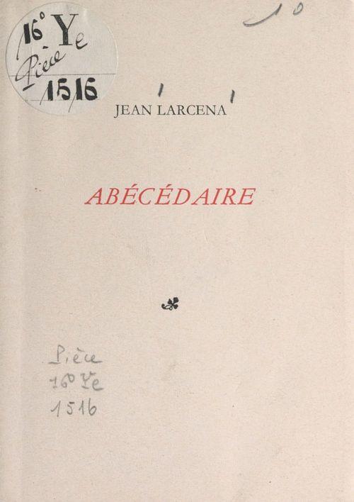 Abécédaire