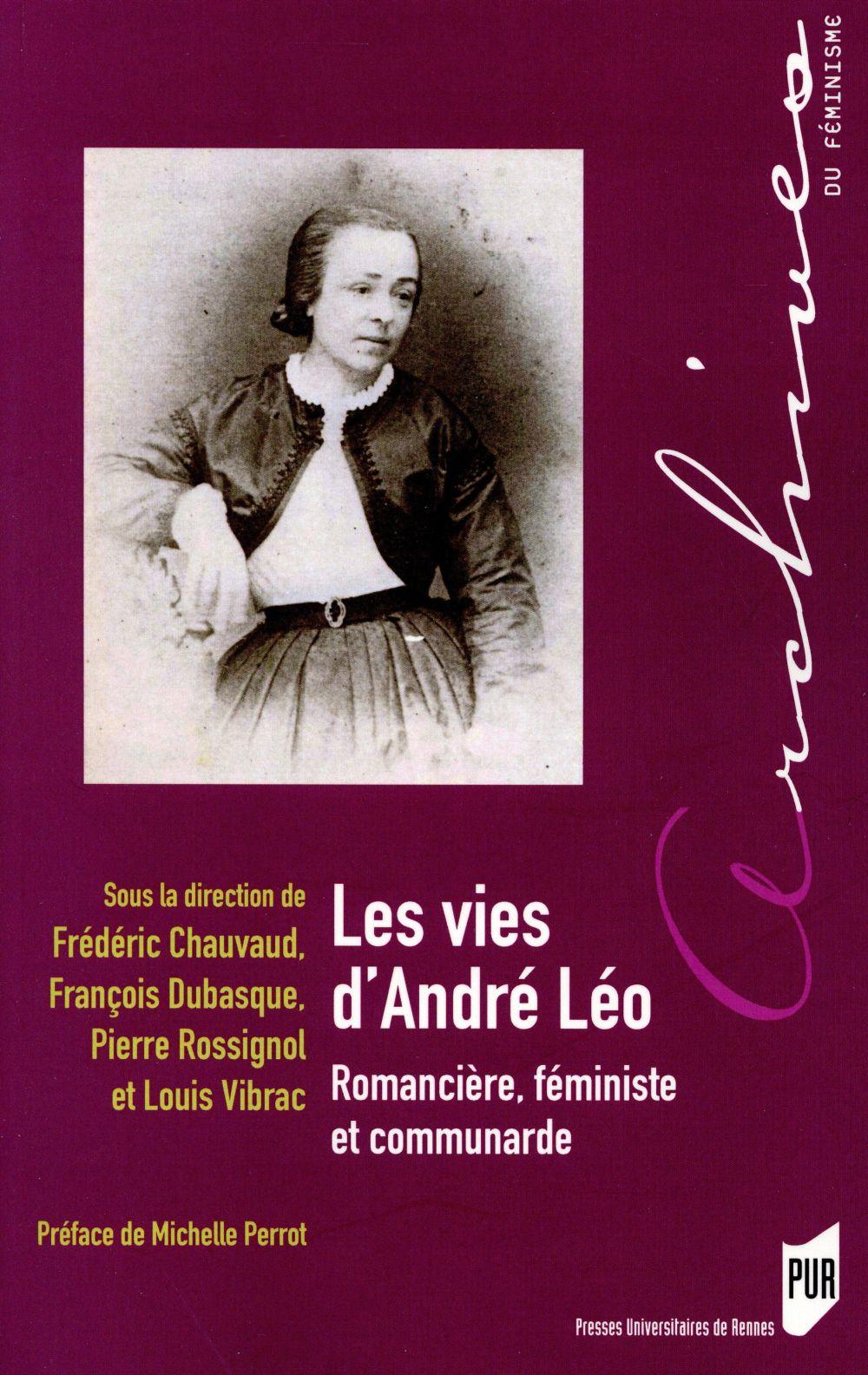 les vies d'André Léo ; romancière, féministe et communarde