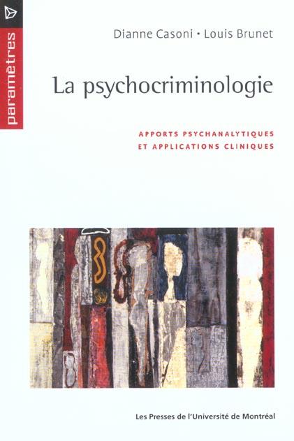 La Psychocriminologie