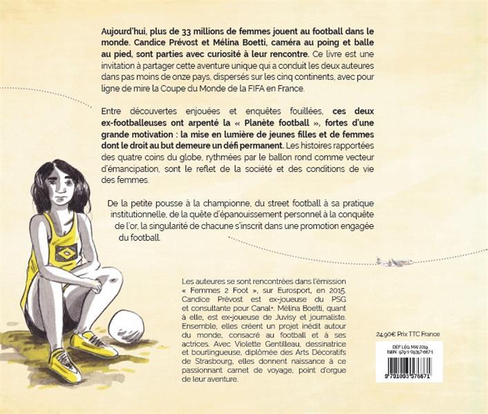 Little miss soccer ; le tour du monde des femmes qui font le foot