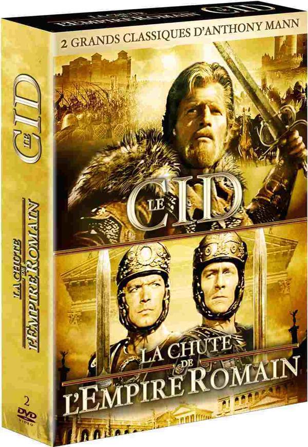 Anthony Mann : Le Cid + La chute de l'empire romain